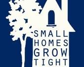 "Small Homes Address - 8x10"" - Digital Download - Printable - Color customizable"
