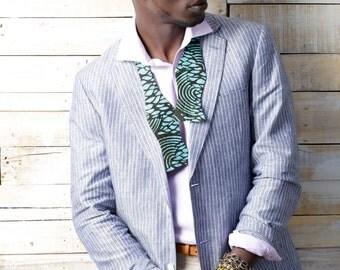 SALE-Unisex Dapper African Print Self-Tie Bow-Tie Great Groomsmen Gift