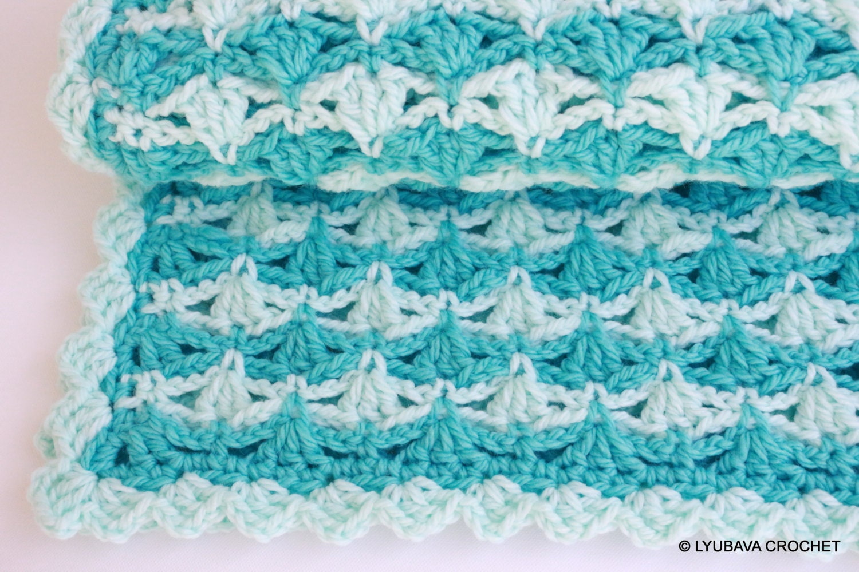 Crochet Flower Pattern Bulky Yarn : Craft Supply-Crochet Baby Blanket PATTERN-Super Chunky Crochet