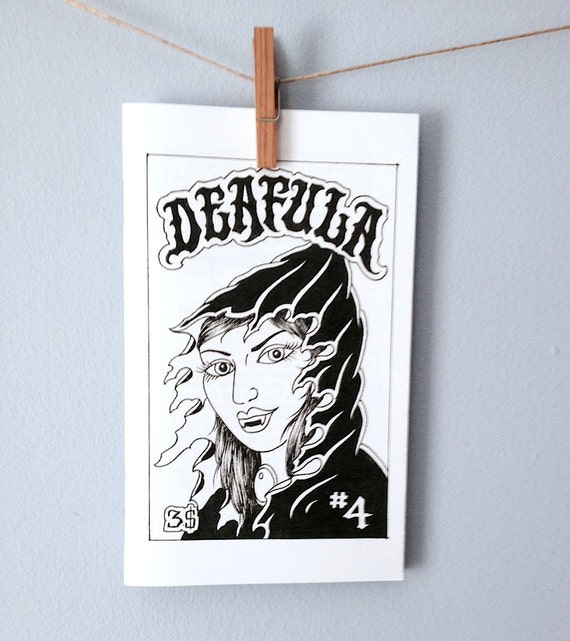 Deafula zine issue 4
