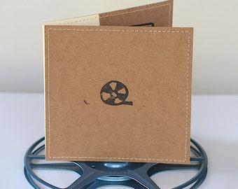 Double DVD Sleeve- Movie Reel Edition