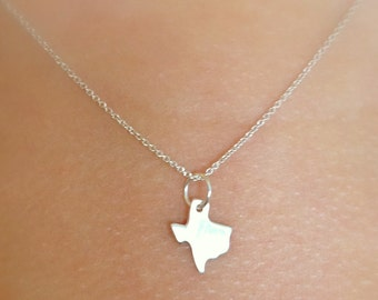 Sterling Texas Necklace