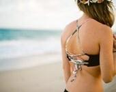 Many bandeau bikini swimsuits natural