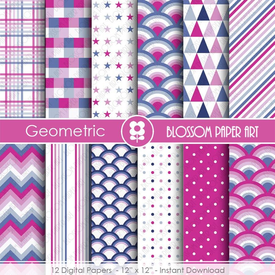 Papeles digitales violeta azul papeles decorativos para - Papeles decorativos para imprimir ...