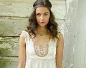 Brown Leather Hippie Headband, Leather Headband, Adjustable