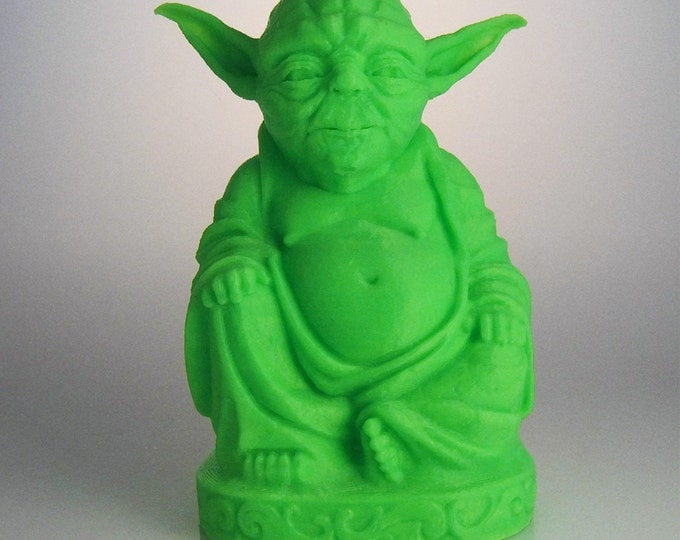 Star Wars - Yoda Buddha (Glow in the Dark Green)