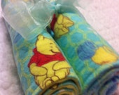 Minky Burp Cloths - Winnie the Pooh (Set of Two)