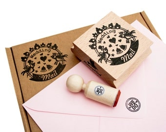 Wedding Mail stamp
