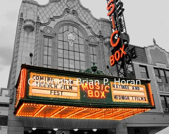 Nostalgic series Music Box Theater -Chicago