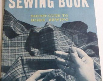 Vintage New Butterick Sewing Book Short-Cuts to Home Sewing 1959