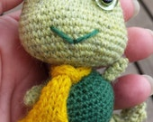 Little green froggy MSD, BJD miniature doll toy/accessory