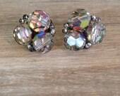 Vintage Earrings Clip On Estate Jewelry