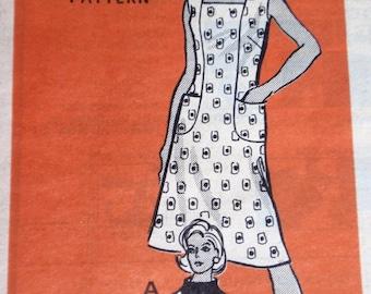 Marian Martin 9120 Seamed to Slim Dress Pattern Plus Size