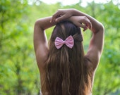 Pastel / Baby Pink Hair Bow