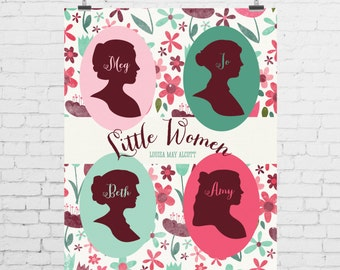 DIGITAL PRINT - Little Women by Louisa May Alcott