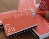 50 Custom Designed Matchbox Wedding Favors