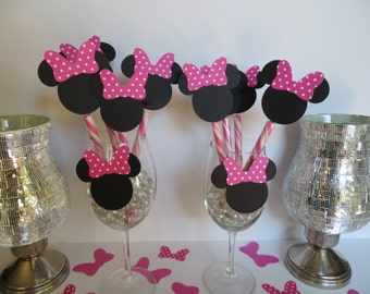 Minnie Mouse theme -Candy Sticks only
