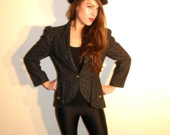 Vintage Grey Jacket Size 36