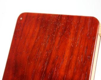 Wood Business Card Holder (Padauk)