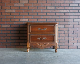 Nightstand / Bedside Chest / French Provincial Nightstand / Country French Nightstand ~ Paint To Order