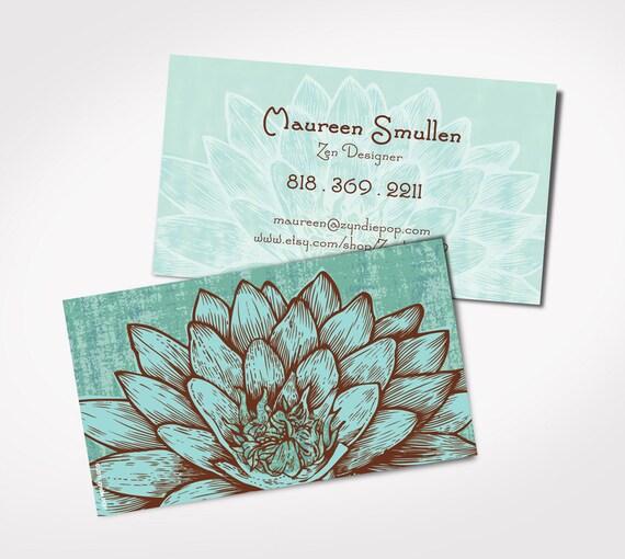 250 Premium Yoga Instructor Business Cards Holistic