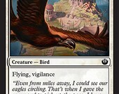 Eagle of the Watch, Limited Edition MTG Artist proof, By Scott Murphy