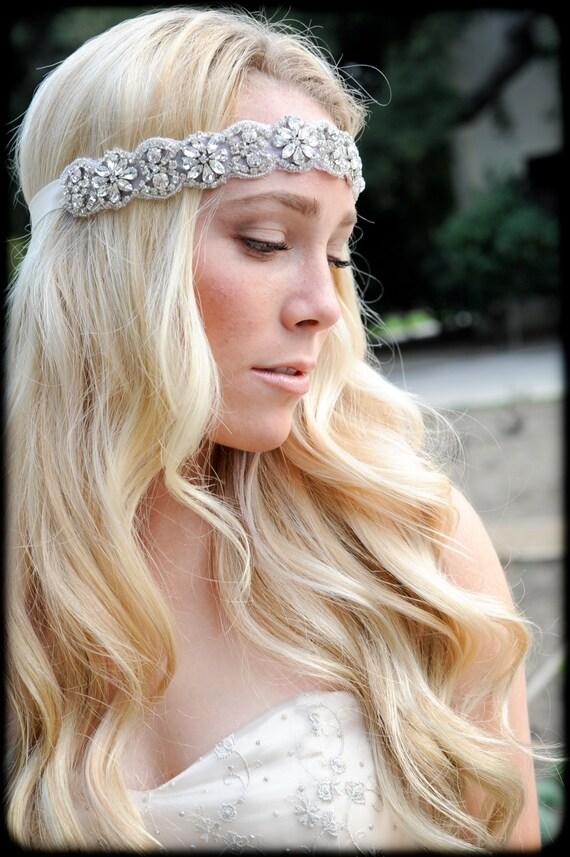 Crystal Headband ,Crystal Headband, Bridal Headband, Wedding Headband, Wedding Hair Piece, Bridal Headpiece, Headpiece, Headband