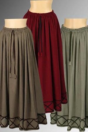 Renaissance Peasant Skirt 16