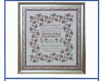 Patience and Prosperity (BRD-035) Cross Stitch Design
