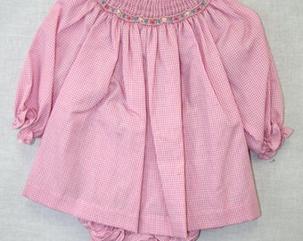 412150-A151 - Smocked Dresses - Baby Girl Clothes - Baby Smocked Dress - Baby Smock Dress - Smocked Bishop Dress - Smocked Dresses Baby Girl