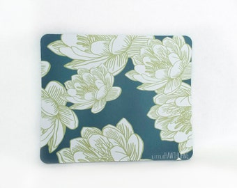 Mousepad / Mouse Pad / Mat - Dark Floral Mousepad
