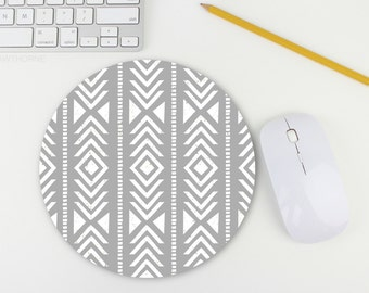 Mousepad / Tribal Print Mouse Pad / Mat