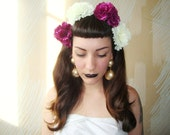 Pin-Up Carnation Hair Comb