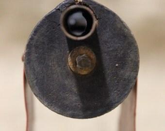Antique Toy Wooden Gatling Gun