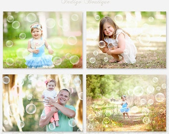 Bubbles Photo Overlays - Photography Overlays -ID192, Instant Download