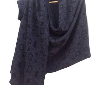 Black shrug / One sleeve scarf / Women top / winter shawl / Shawl / Shrug / Scarf