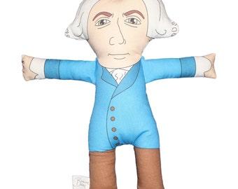 Leonhard Euler Plush Doll Toy