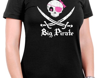 Big Pirate Girl T-Shirt