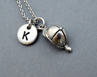 Riding helmet necklace, Equestrian helmet, horse riding helmet hat, antique silver, initial necklace, personalized, monogram