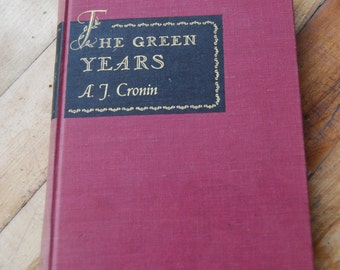 Vintage Book, The Green Years, A. J. Cronin