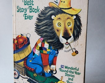 Vintage Children's Book, Richard Scarry's Best Story Book Ever