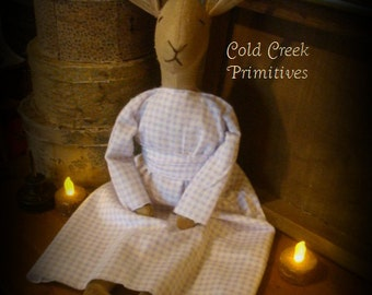 Primitive Bunny Doll