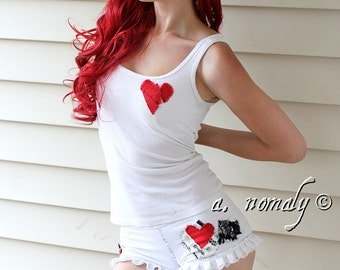 Emilie Autumn custom tank top and bloomers set