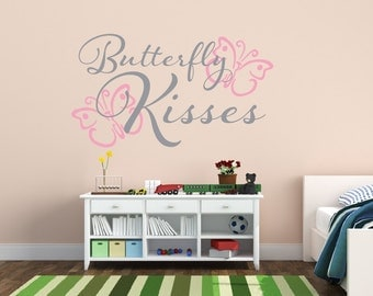 Butterfly Wall Decal Etsy - Vinyl wall decals butterflies