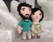 Custom doll for COUPLE