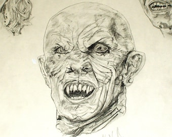 The Master Vampire Print