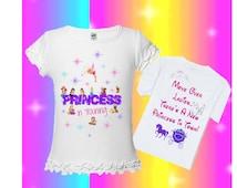 Disney Princesses Shirt - Princess In Training - Move Over