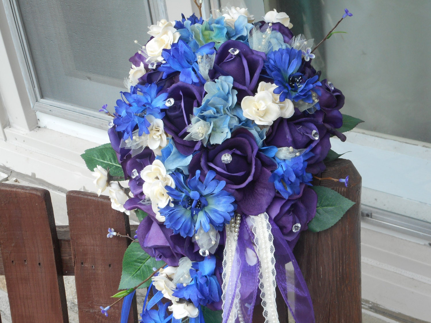 Purple And Blue Wedding Bouquets – Skyranreborn