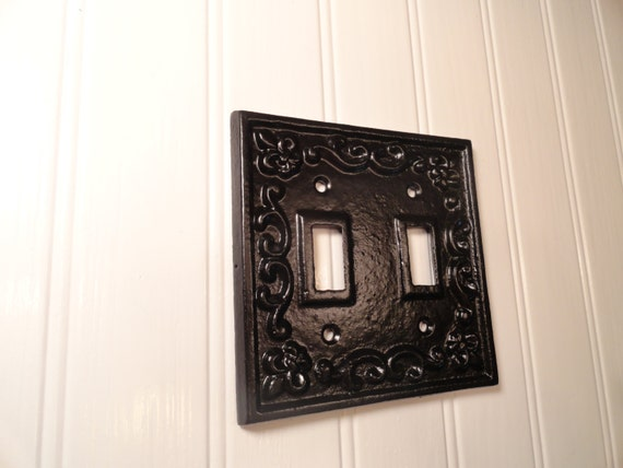 Unavailable listing on etsy - Wrought iron switch plate covers ...