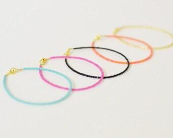 Seed bead bracelet, minimalist bracelet, seed bead jewelry, seed bead bracelet, beaded bracelet, dainty bracelet, minimalist bracelet